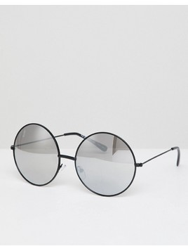 AJ Morgan round sunglasses - Silver