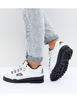 Fila Trail Blazer Boots In White - White