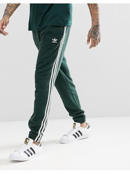 adidas Originals adicolor 3-Stripe Joggers In Green CX1898 - Green