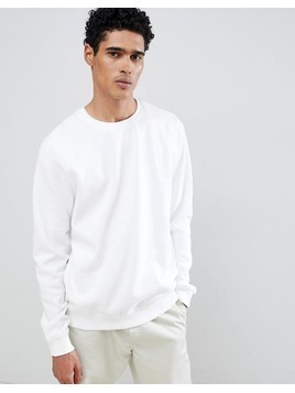Burton Menswear Sweatshirt In White - White