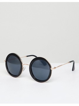 AJ Morgan round frames sunglasses - Black