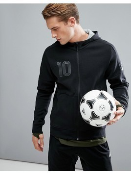 adidas Tango Football Hoodie In Black BQ6886 - Black