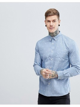 Hymn Paper Plane Chambray Shirt - Blue