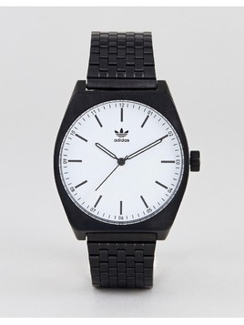 Adidas Z02 Process Bracelet Watch In Black - Black