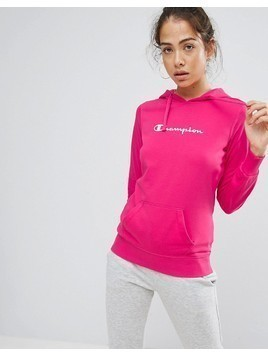 Champion Hooded Sweatshirt - Pink