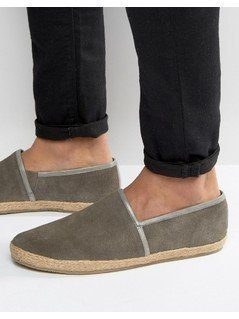 KG By Kurt Geiger Loafers In Grey Suede - Grey