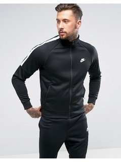 Nike Tribute Track Jacket In Black 678626-010 - Black