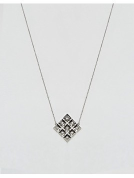 House Of Harlow Geo Pendant Necklace - Silver