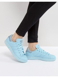 adidas Originals Icy Blue Stan Smith Trainers - Blue