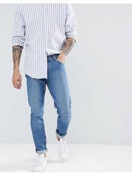 Weekday Sunday Mint Blue Tapered Jeans - Blue