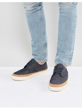 TOMS Paseo Trainers In Navy - Navy