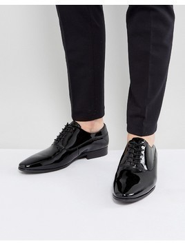 ALDO Stolfi Oxford Patent Shoes In Black - Black