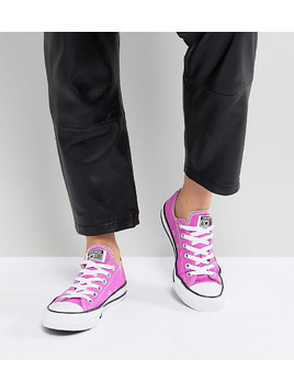 Converse Chuck Taylor All Star Ox Trainers In Magenta - Pink