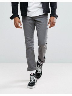 Brixton Reserve Chino in Standard Fit - Grey