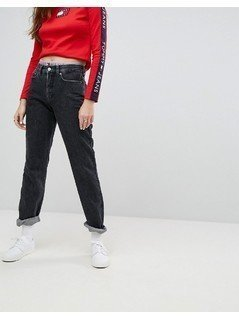 Tommy Jeans 90s Capsule Mom Jean - Black