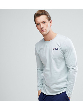 Fila Vintage Lounge Long Sleeve T-Shirt In Green - Green