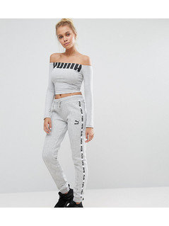 Puma Exclusive To ASOS Taped Sweat Pants - Grey