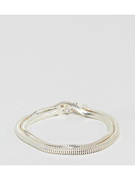 Seven London Silver Wrap Bracelet In Sterling Silver - Silver