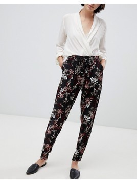 b.Young floral trousers - Multi