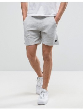 Produkt Jersey Shorts In Marl - Grey