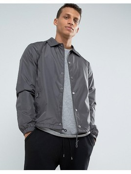 Loyalty and Faith Coach Jacket - Grey