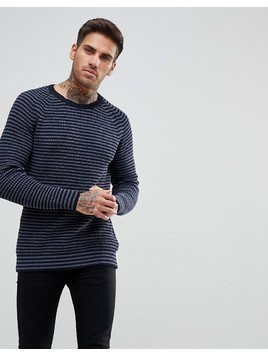 Kronstadt Cotton Jumper - Navy