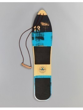 Burton Snowboards The Throwback Snowboard Fiberglass Wood in Blue - Blue