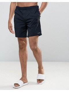 Converse Quick Dry Swim Shorts In Black 10003459-A01 - Black
