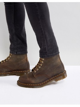 Dr Martens 1460 8-Eye Boots in Brown - Brown