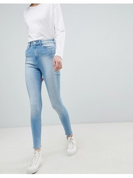 Waven Anika High Waisted Skinny Jeans - Blue