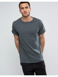 Weekday Kubic T-Shirt - Blue