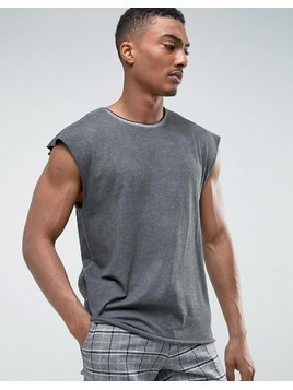 Weekday Sly Washed T-Shirt - Black