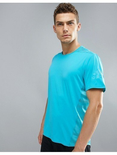 Adidas Gym T-Shirt - Blue