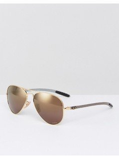 Ray-Ban Aviator Sunglasses with Polarised Lens 0RB8317CH - Gold