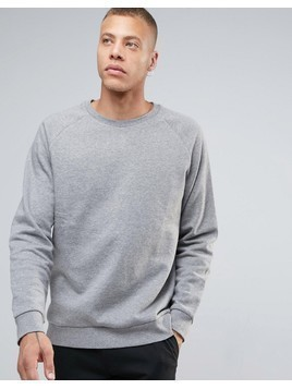 Weekday Paris Melange Sweatshirt - Grey
