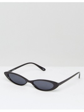 ASOS Small Cat Eye Fashion Glasses - Black