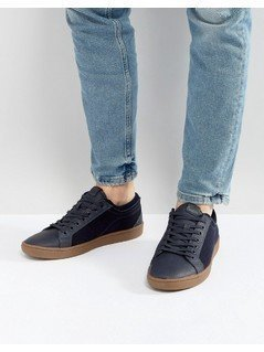 ALDO Sigrun Lace Up Plimsolls In Navy - Navy