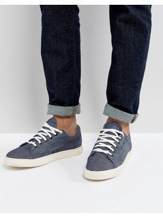 G-Star Thec Chambray Trainers - Blue