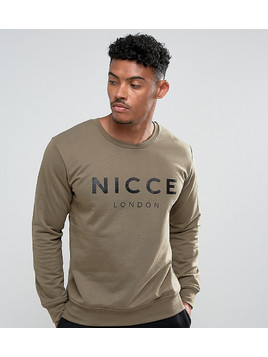 Nicce London Sweatshirt In Green - Green
