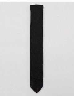 Noose&Monkey Knitted Tie - Black