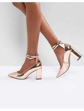 ASOS POPPET High Heels - Gold