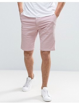 Edwin Rail Denim Short Pink Wash - Pink