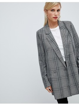 Vila check blazer - Multi