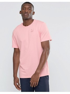 Puma Lounge Loose T-Shirt - Pink