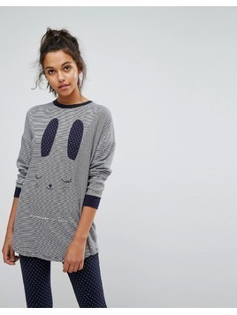 Oysho Bunny Night Tshirt - Grey