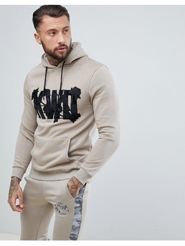 Kings Will Dream Muscle Logo Hoodie - Stone