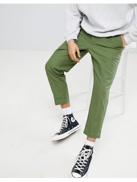 Obey Straggler Carpenter Pant In Slim Fit - Green