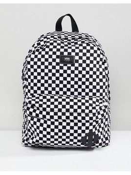 Vans Old Skool Ii Backpack In Checkerboard - Multi
