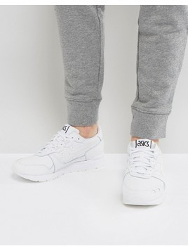Asics Gel-Lyte Trainers In White HL7W3 0101 - White