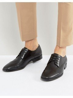ALDO Boloeil Softy Toe Cap Derby Shoes - Black